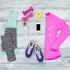 fresh workout clothes for spring