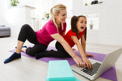 online dance and gym classes