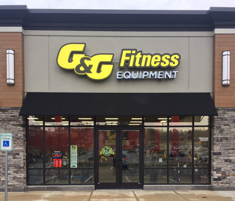 Fitness Exercise Equipment Store Pittsburgh Penn Center PA G&G Fitness
