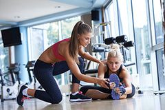 personal trainers help you to understand the right way to exercise, teach good form, and motivate