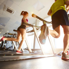 running on treadmill high impact vs low impact