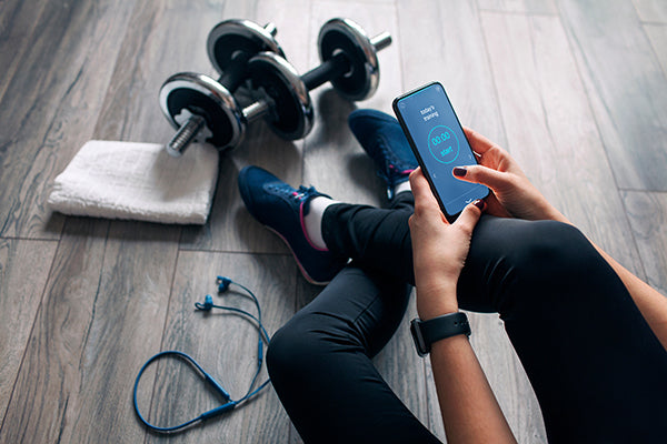 Use a Fitness App to workout while traveling