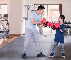 The whole family can workout with a home gym. Why have a gym at home? Why buy a treadmill? 5 reasons why you should have a home gym or fitness space