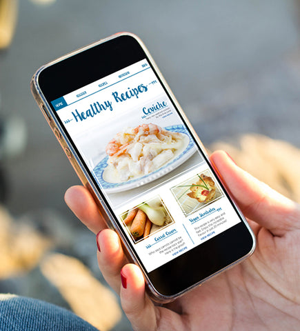 Recipe apps and grocery list apps