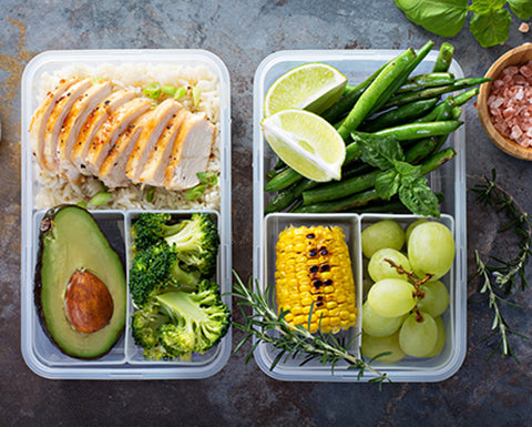 meal prep planning healthy diet