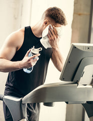 why should you drink water when working out on a treadmill or elliptical