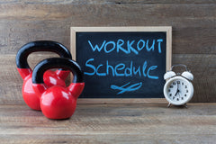 Workout Schedule for new year fitness resolution