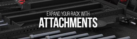 Expand your XM FITNESS 365 INFINITY rack with attachments and accessories