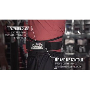 Schiek Lifting Belt -Black features 2