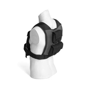 25lbs Adjustable Weighted Training Vest Back