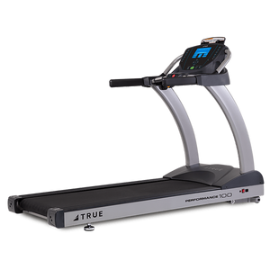 The TRUE Fitness Performance 100 treadmill offers affordable quality without skimping on premium technology and engineering for your home fitness needs with treadmills for your home. The Performance 100 features TRUE's Soft System® and is manufactured with commercial-grade materials and the finest components so it feels and functions like a commercial machine. Pair with the GymTrackr App to let your cardio workout kick up a notch. Additionally, up to four users can create unique profiles and save their favo