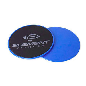 ELEMENT FITNESS XL POWER GLIDING DISCS - 9""