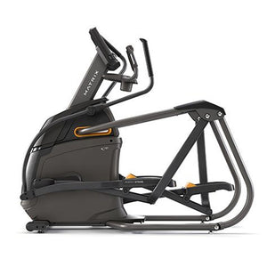 Full side view of Matrix A30 Ascent Trainer Elliptical