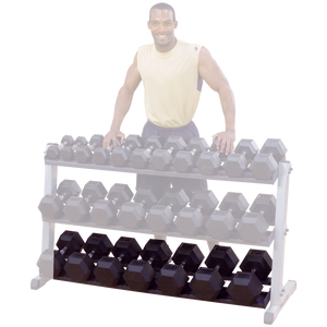 Optional 3rd tier Dumbbell Shelf for Rack (GDR60)