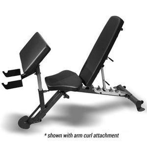 Inspire SCS Incline/Decline Bench with Preacher Curl attachment