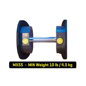 MX55 Selectorized Adjustable Dumbbells with Stand min