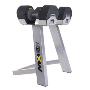 MX55 Selectorized Adjustable Dumbbells with Stand