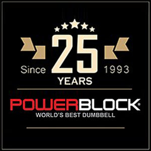 PowerBlocks Pro Expandable 5-50 lbs. Dumbbells (Stage 1)