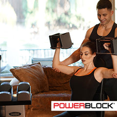 powerblocks adjustable dumbbells