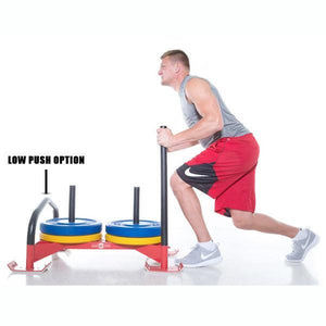 Gronk Fitness PROFESSIONAL DRIVING POWER SLED RED