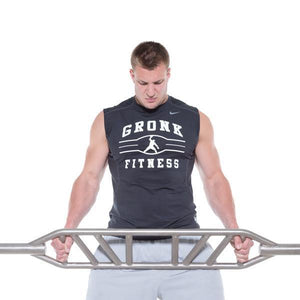 Gronk Fitness commercial grade swiss bar
