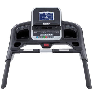 folding treadmill spirit fitness XT185 runners view