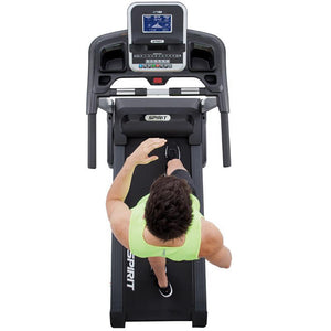 folding treadmill spirit fitness XT 185 overview