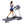 folding treadmill spirit fitness XT185 with runner