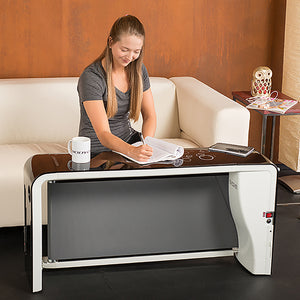 body craft space walker treadmill compact folding treadmill desk black table bench space saver