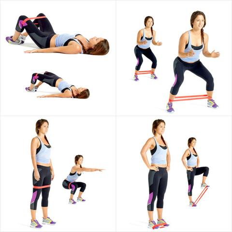 resistance exercise bands minibands level 2  gg
