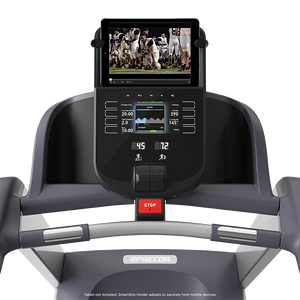 Precor TRM 445 Treadmill console with tablet