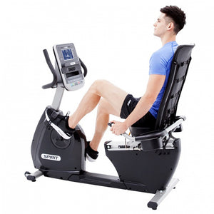 Spirit XB R55 Recumbent Bike side