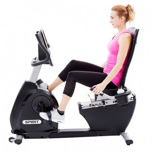 Spirit XBR55 Recumbent Bike side