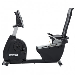 Spirit XBR55 Recumbent Bike side view