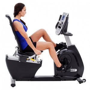 Spirit XBR95 Recumbent Bike model side