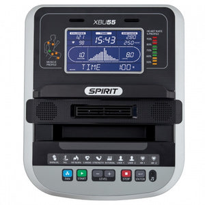 Spirit XBU55 Upright Bike Console