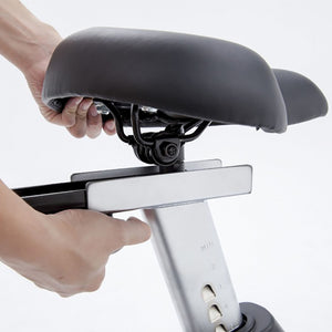 Spirit XBU55 Upright Bike adjustable seat