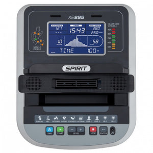 Spirit XE 295 Elliptical console