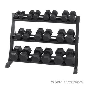 XM Fitness 3-TIER DUMBBELL STORAGE RACK