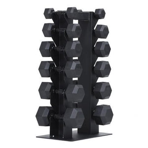 XM VERTICAL DUMBBELL RACK - HOLDS 6 PAIR