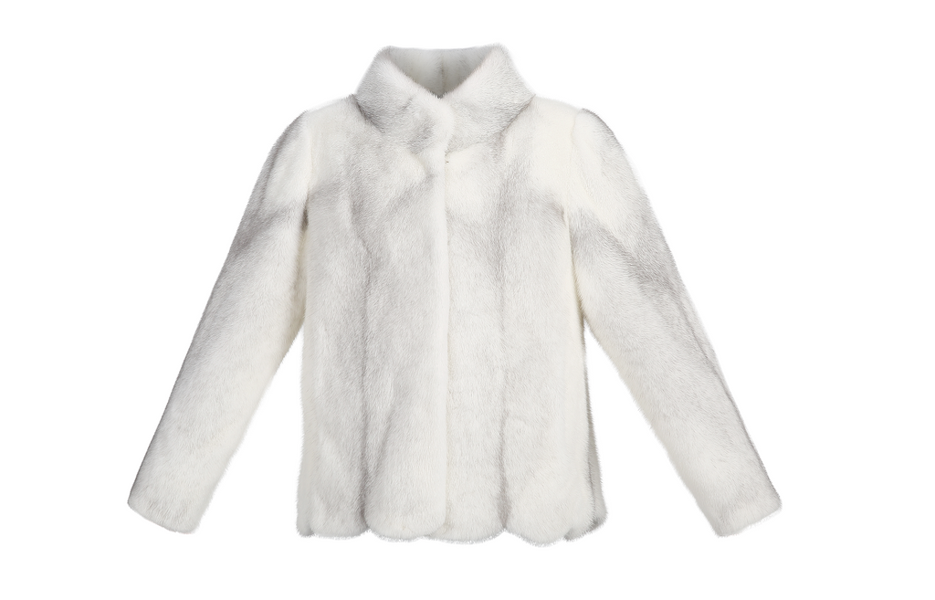 Hudson Mink Jacket - Cross Mink - FURRY FURS