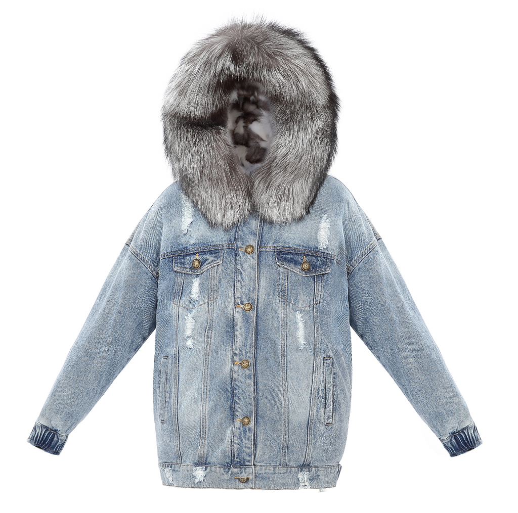 Furries Denim Jacket - FURRY FURS