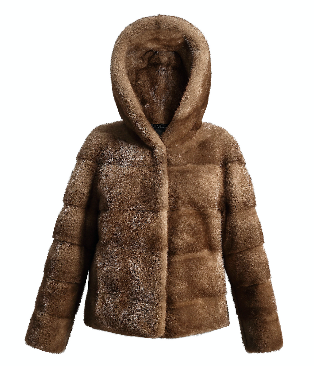 Isla Mink Jacket - FURRY FURS
