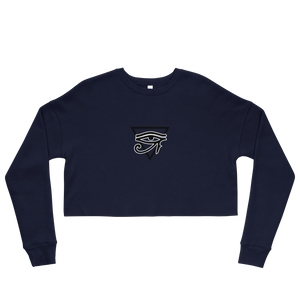 Embroidered Crop Sweatshirt-Live&Enjoy Clothing