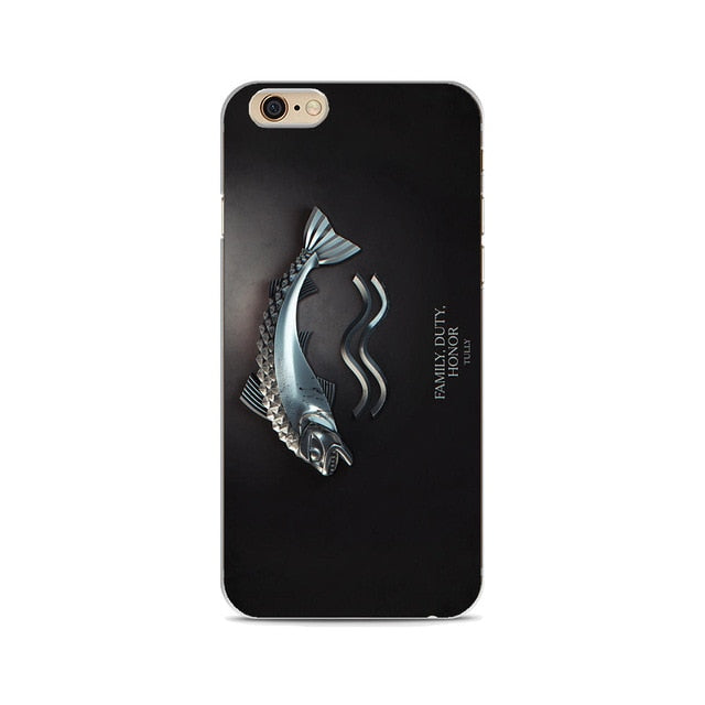 Official Game of Thrones® Soft Silicone Case For Apple iphone
