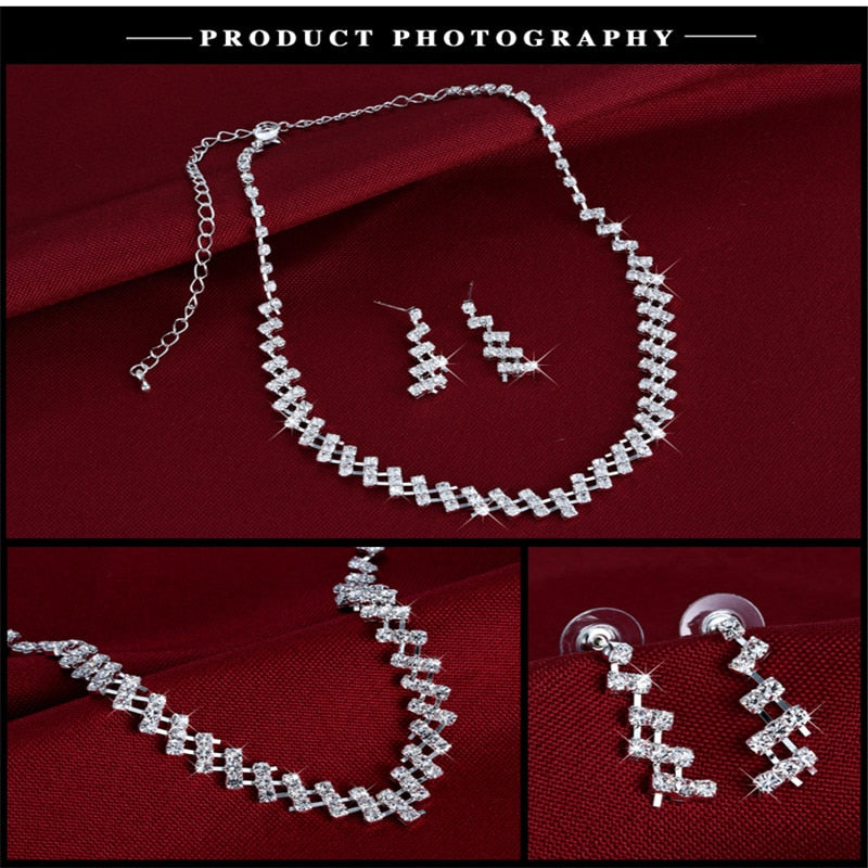 Necklace & Earrings set for Beautiful Brides