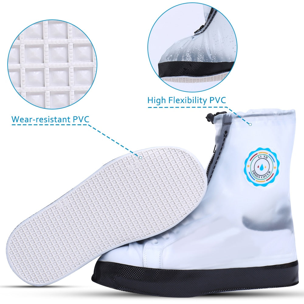 Rainsaver Waterproof Non-slip Reusable Overshoes.