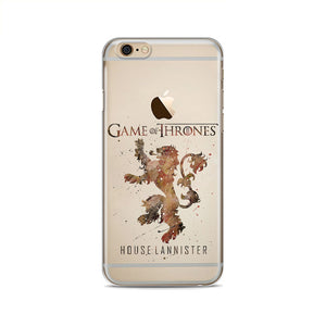Official Game of Thrones® Clear Soft silicone Phone for Apple iphone