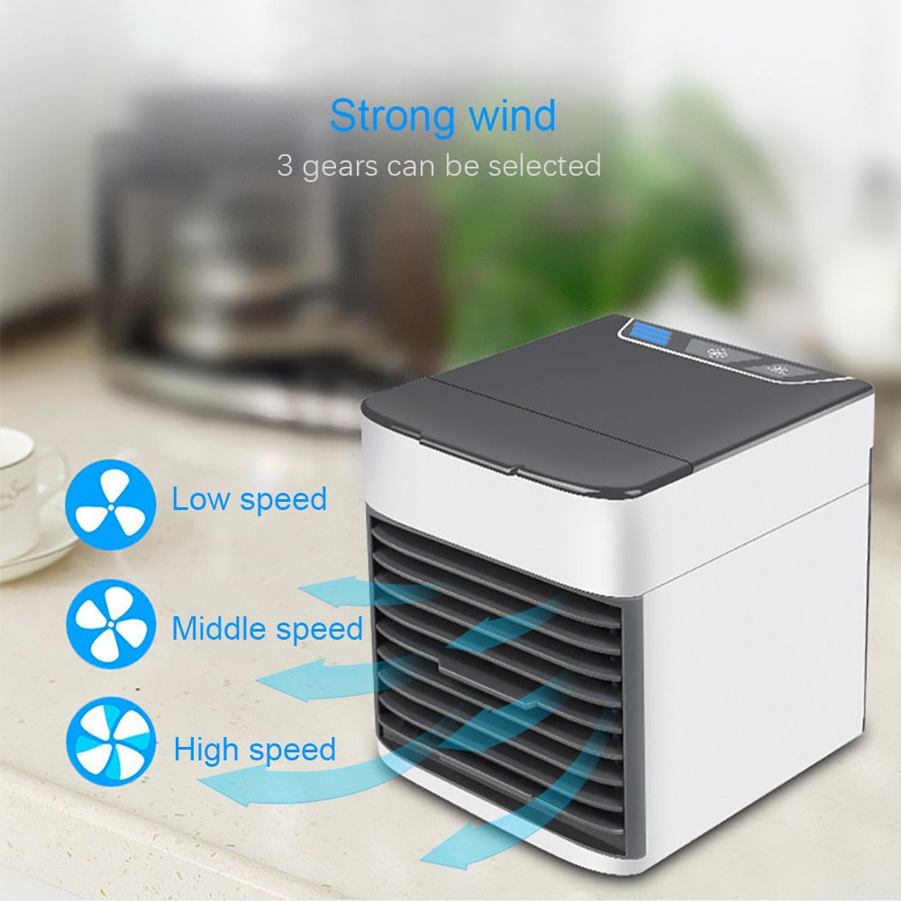Tundra™ USB Mini Portable Air Conditioner.