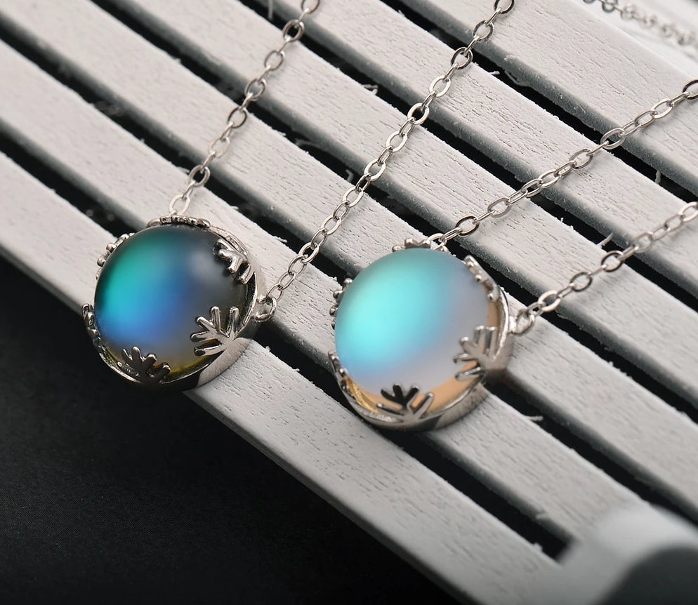 Dream™ S925 Sterling Silver Elegant Aurora Borealis Necklace
